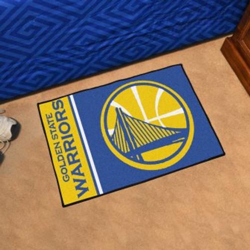 Golden State Warriors Basketball Custom Starter Mat