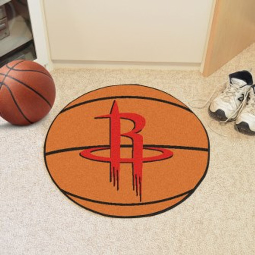 Houston Rockets Basketball Mat