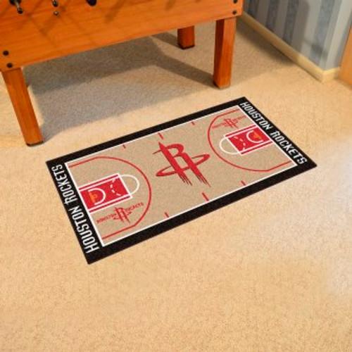 Houston Rockets NBA Court Large Runner