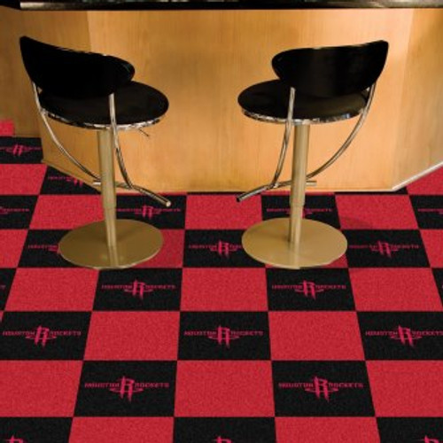 Houston Rockets Team Carpet Tiles