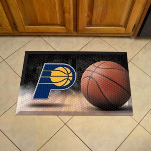 Indiana Pacers Basketball Scraper Mat