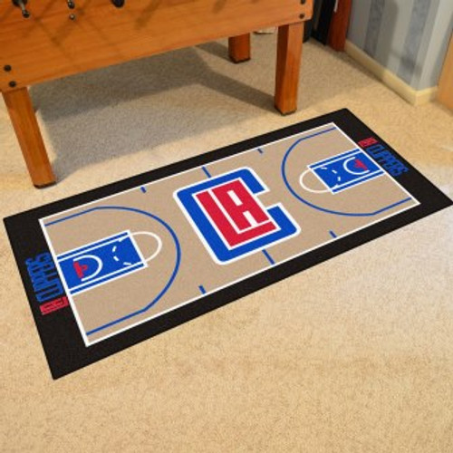 Los Angeles Clippers NBA Court Runner