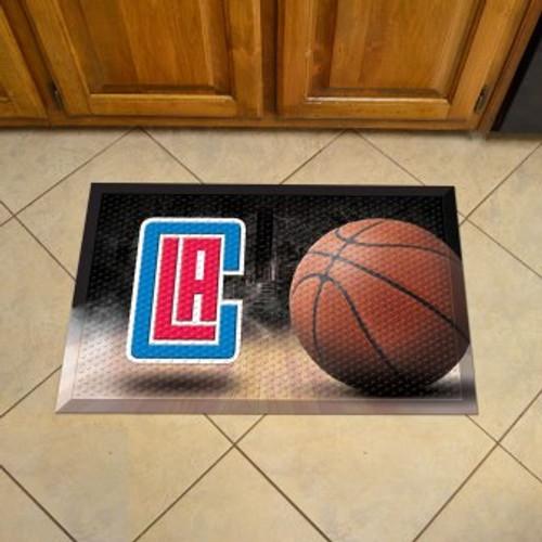 Los Angeles Clippers Basketball Scraper Mat