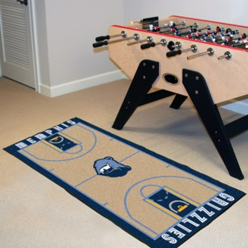 Memphis Grizzlies NBA Court Runner