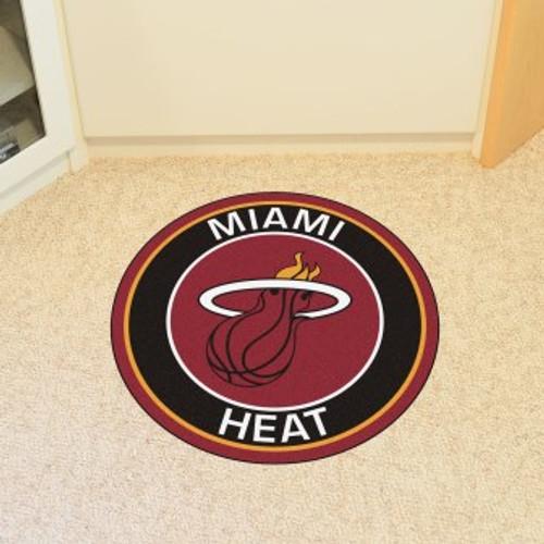 Miami Heat Win Roundel Mat