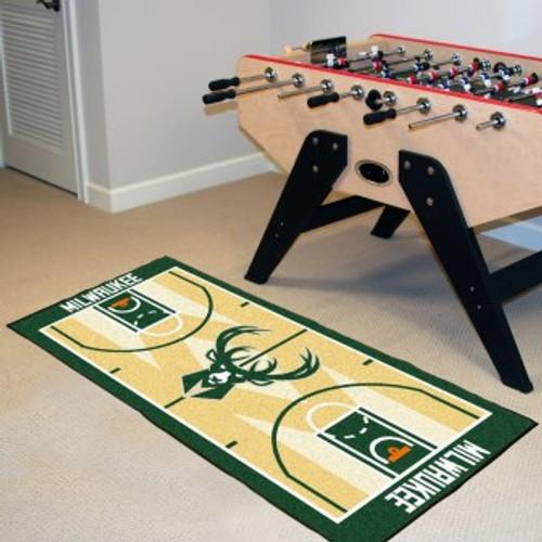 Milwaukee Bucks NBA Court Runner