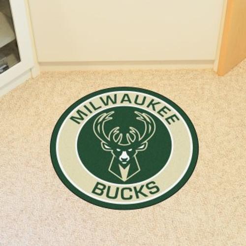 Milwaukee Bucks Win Roundel Mat