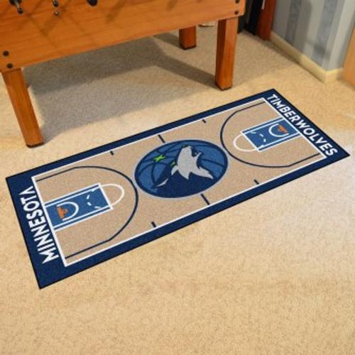 Minnesota Timberwolves NBA Court Runner
