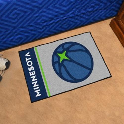 Minnesota Timberwolves Basketball Custom Starter Mat