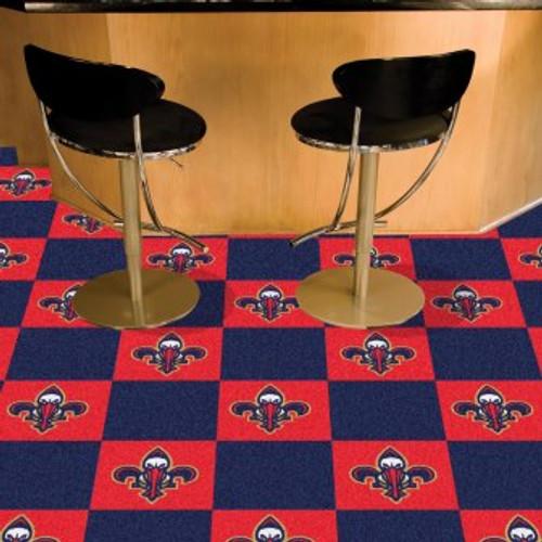 New Orleans Pelicans Team Carpet Tiles