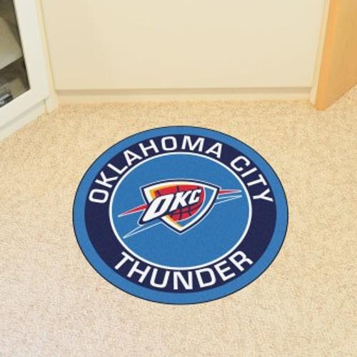 Oklahoma City Thunder Win Roundel Mat