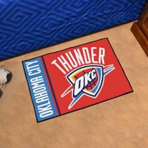 Oklahoma City Thunder Basketball Custom Starter Mat