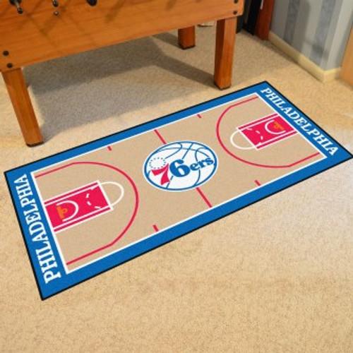 Philadelphia 76ers NBA Court Runner