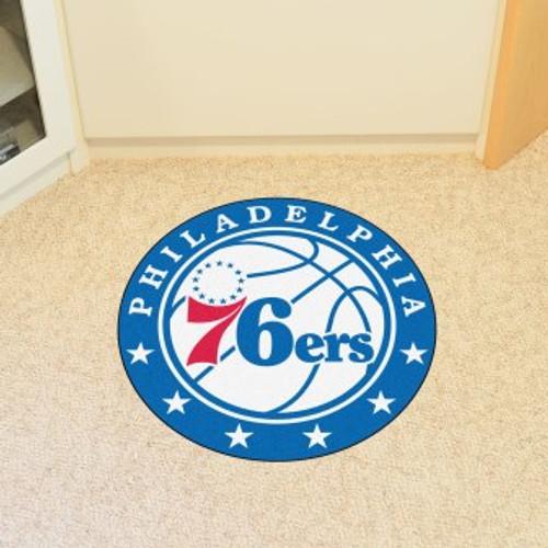 Philadelphia 76ers Win Roundel Mat