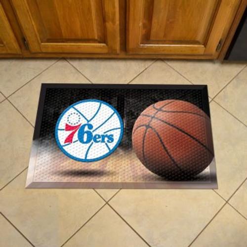 Philadelphia 76ers Basketball Scraper Mat