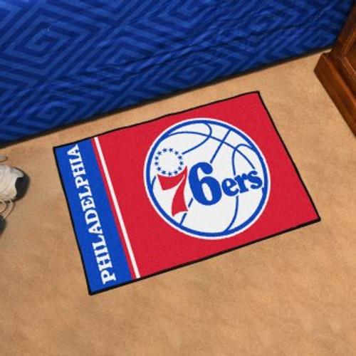 Philadelphia 76ers Basketball Custom Starter Mat