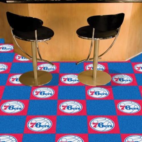 Philadelphia 76ers Team Carpet Tiles