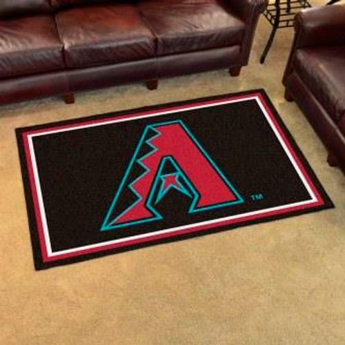 Arizona Diamondbacks 4x6 Area Rug