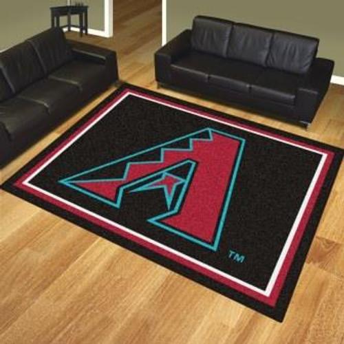 Arizona Diamondbacks 8x10 Area Rug