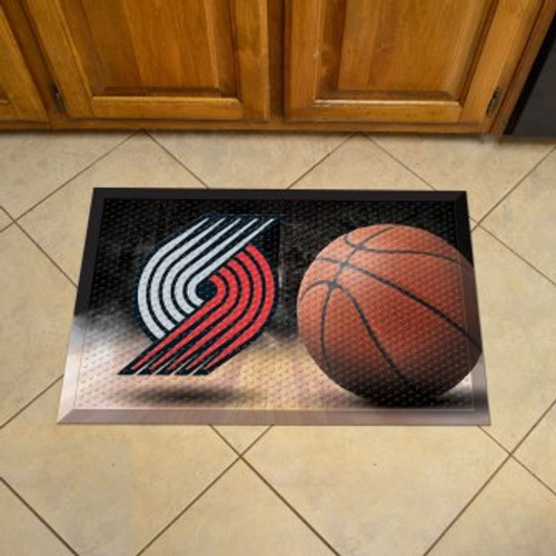Portland Trail Blazers Basketball Scraper Mat