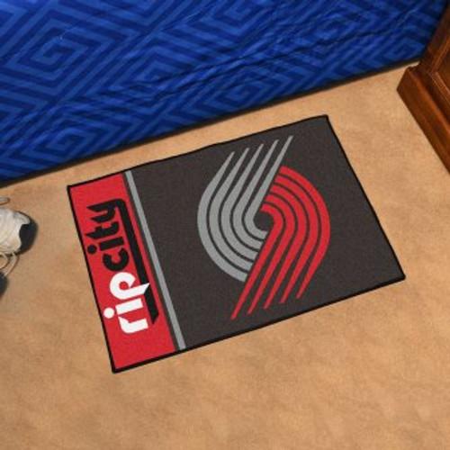Portland Trail Blazers Basketball Custom Starter Mat