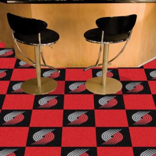 Portland Trail Blazers Team Carpet Tiles