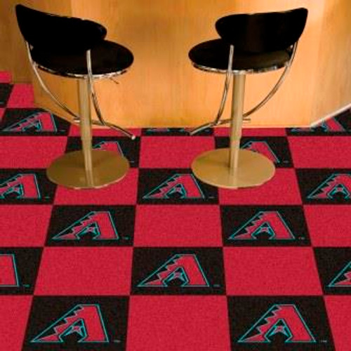 Arizona Diamondbacks Carpet Tiles