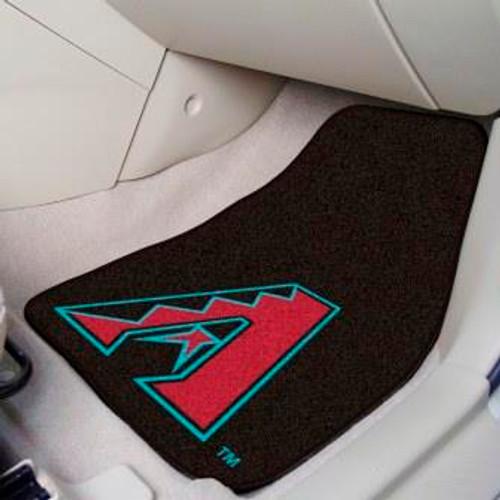 Arizona Diamondbacks 2-pc Carpet Car Mat Set