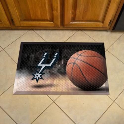 San Antonio Spurs Basketball Scraper Mat