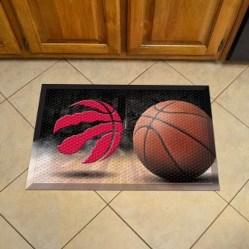 Toronto Raptors Basketball Scraper Mat