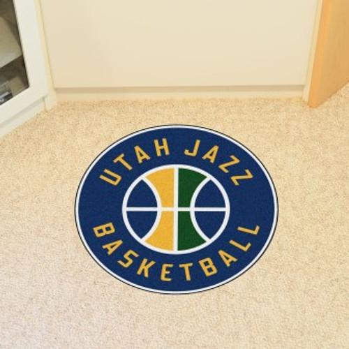 Utah Jazz Win Roundel Mat