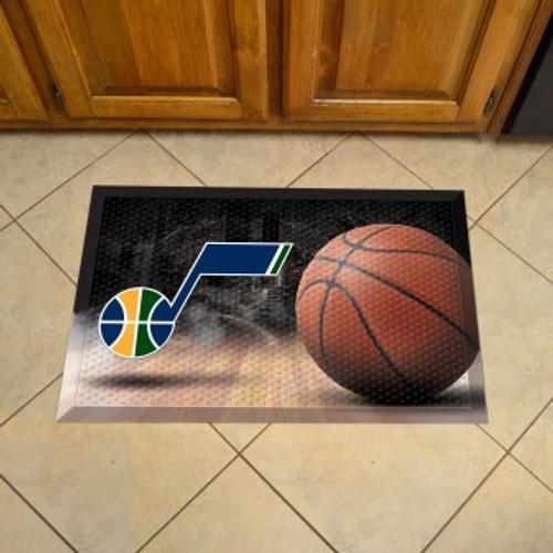 Utah Jazz Basketball Scraper Mat