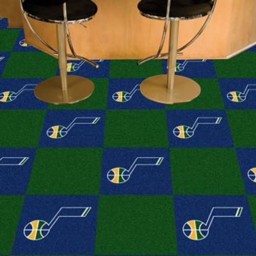 Utah Jazz Team Carpet Tiles