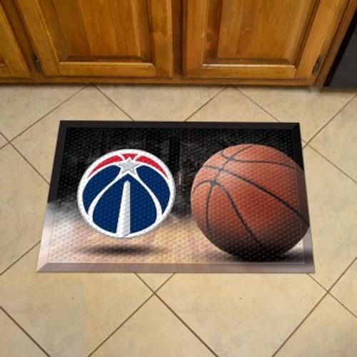 Washington Wizards Basketball Scraper Mat