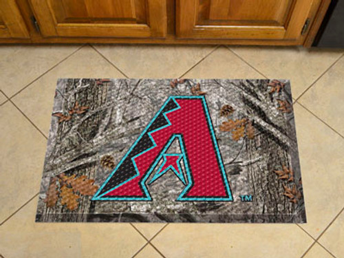 Arizona Diamondbacks Camo Scraper Mat