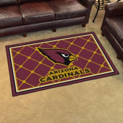 Arizona Cardinals 4x6 Rug