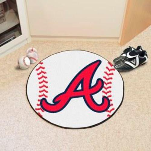 Atlanta Braves Baseball Mat