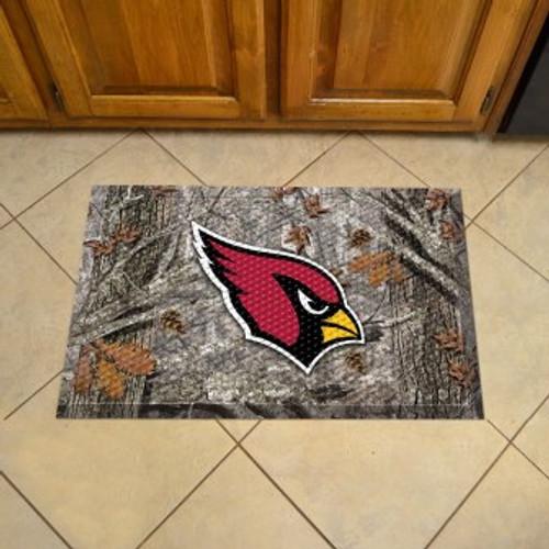Arizona Cardinals Camo Scraper Mat
