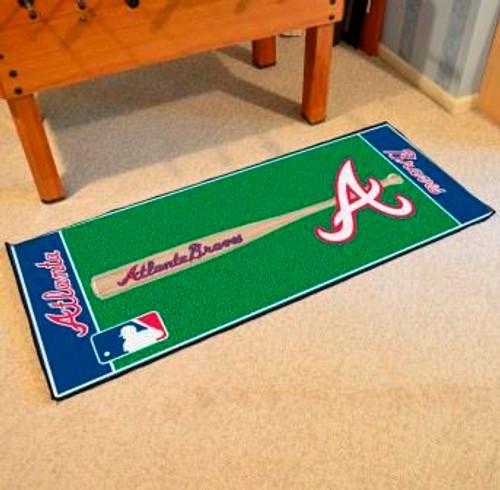 Atlanta Braves Baseball Runner