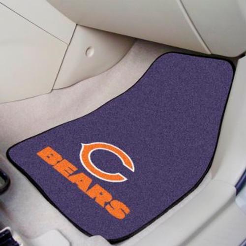 Chicago Bears 2-pc Carpet Car Mat Set