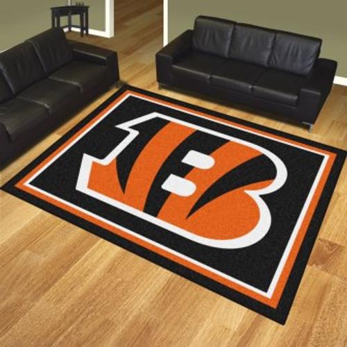 Cincinnati Bengals 8x10 Rug