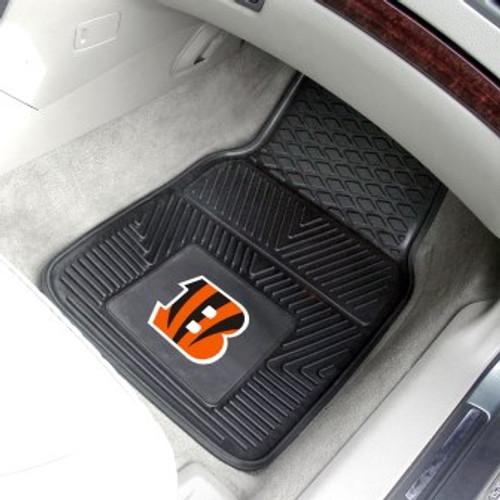 Cincinnati Bengals 2-pc Vinyl Car Mat Set