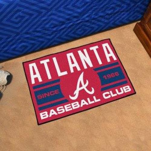 Atlanta Braves Baseball Club Starter Mat