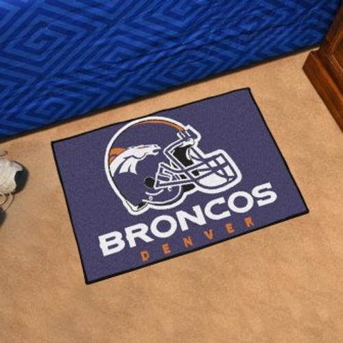 Denver Broncos Starter Mat