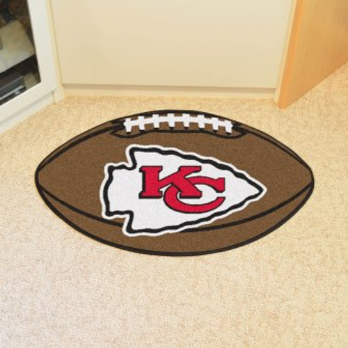 Kansas City Chiefs Football Mat
