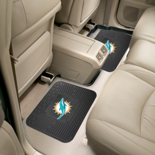 Miami Dolphins Utility Mats 2 Pack