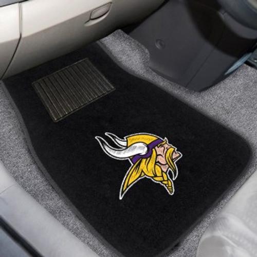 Minnesota Vikings 2-pc Embroidered Car Mat Set