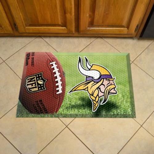 Minnesota Vikings Football Scraper Mat