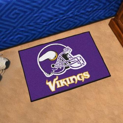 Minnesota Vikings Starter Mat-Helmet
