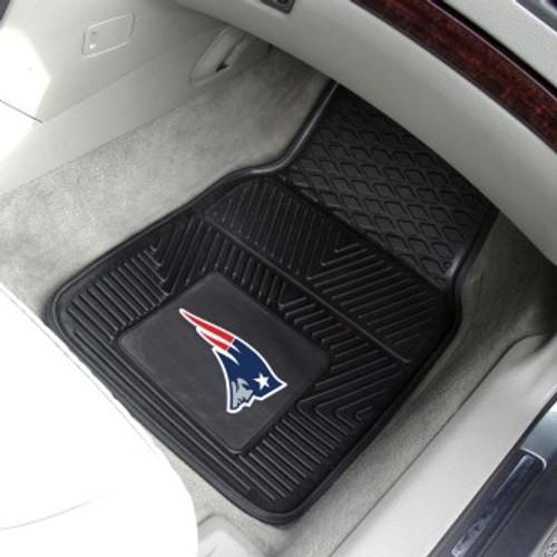 New England Patriots 2-pc Vinyl Car Mat Set